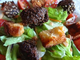 You can make delicious croutons at home!