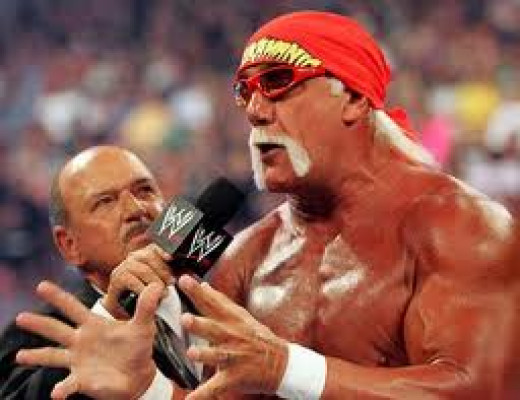 Hulk Hogan is one of the top wrestlers in history. He has won the Heavyweight wrestling title  during his time in wrestling.