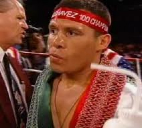 Julio  Cesar Chavez had a brutal body attack and he won 89 fights before he lost. He has one of the best chins in boxing history which he proved by taking bombs from big punchers.