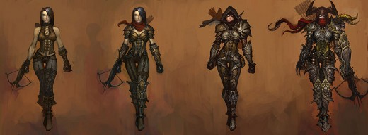 The Demon Hunter In Diablo 3