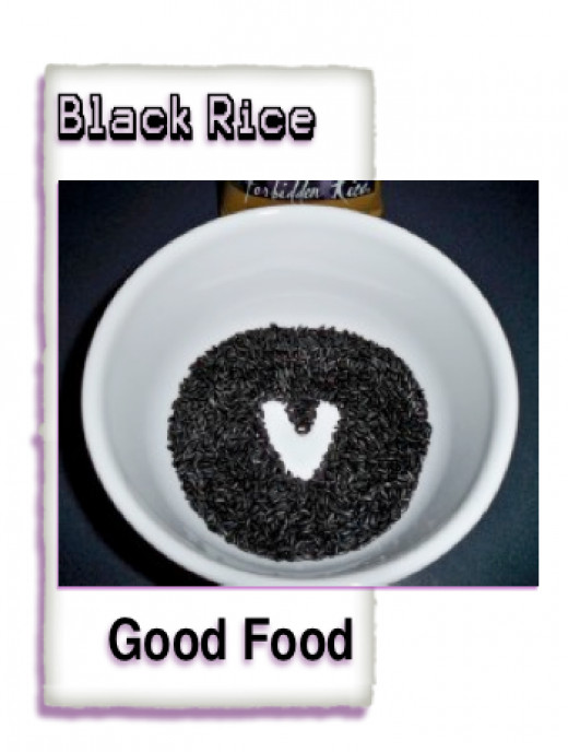Black Rice Is Full Of Flavorful Benefits For Healthy Recipes!