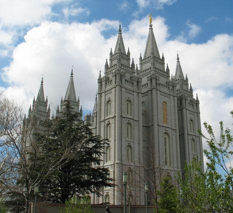 A Mormon Temple