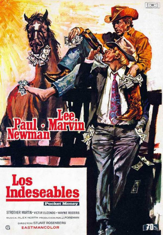 Pocket Money (1972) Spanish poster