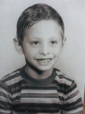 This is my brother, Jim, who has cancer now, and is still alive. He was real young here.