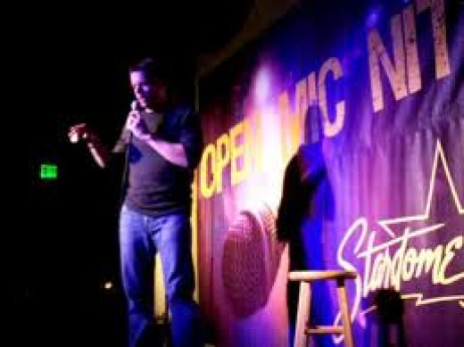 Open Mic Night at the Comedy Club let's amateur comedians hone their skills.