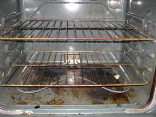 pic of dirty oven