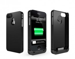 Separate case and battery pack.