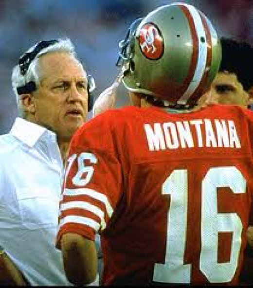 Joe Montana played for the San Francisco 49ers and the K.C. Chiefs during his NFL Career.