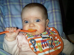 The first steps in negotiating the minefield of baby weaning