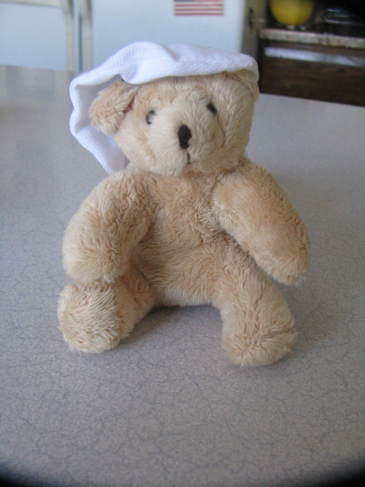 This bear is from a special collection of Tonner's