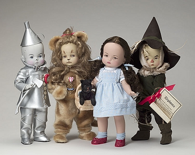 Tonner's Besty Collection of Wizard of Oz