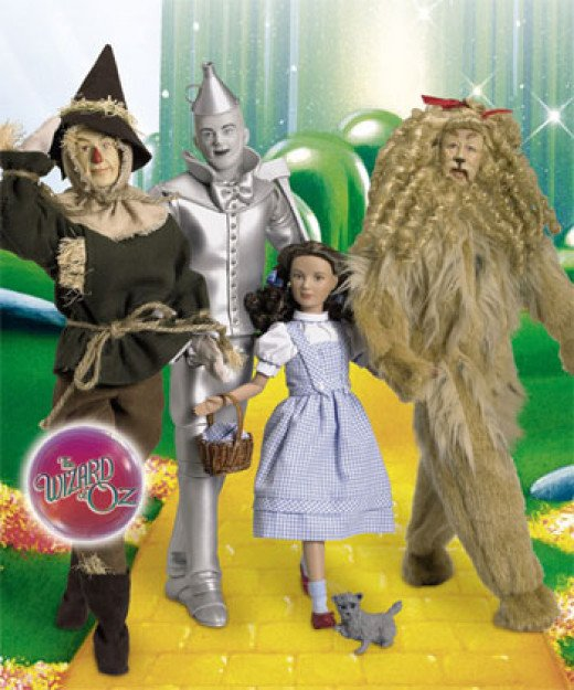 Tonner's regular Wizard of Oz Collection