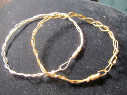 More wire wrapped bangle bracelets by NaomiR