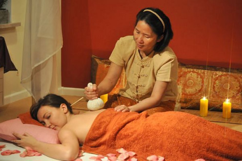 Thai style relaxation massage.