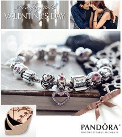 Pandora Charms--The Top 5 Gifts to Say I Love You
