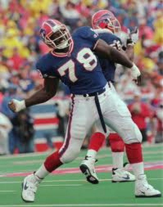 Bruce Smith helped the Buffalo Bills go to the Super Bowl four times. He was a very tough player who never took any shortcuts along the way to the top.