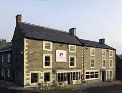 The White Swan, on the north side of the square