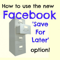 Facebook Save For Later Feature - Saved Links