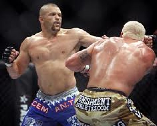 Chuck Liddell is one of the best light heavyweights in UFC history. He could knock you out with either hand and or either leg. The Iceman is a very powerful fighter.