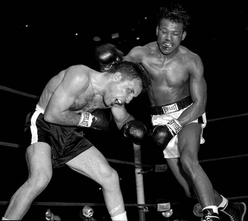 Sugar Ray Robinson was a 5 time middleweight champion and a long time welterweight King.