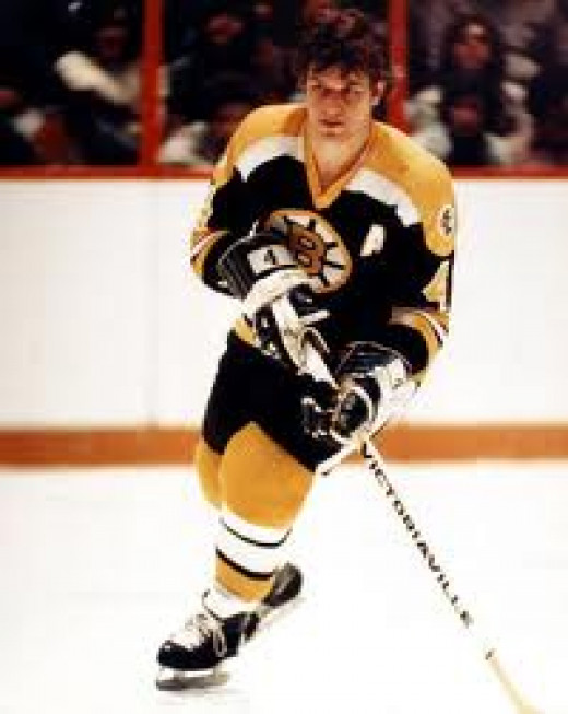 Bobby Orr was inducted into the Hall of Fame in 1979. His heart and determination on the rink were unmatched.