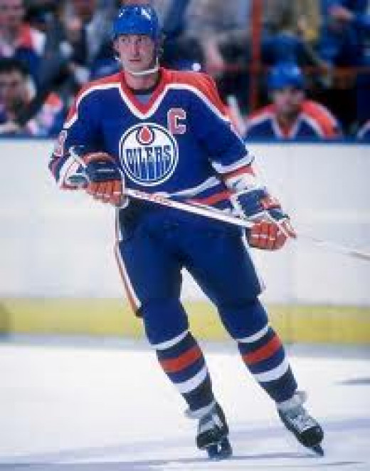 Wayne Gretzky is a living legend in the sport of Hockey. He is the King of the hockey stick. He could score in crucial moments with an unheard of calmness.