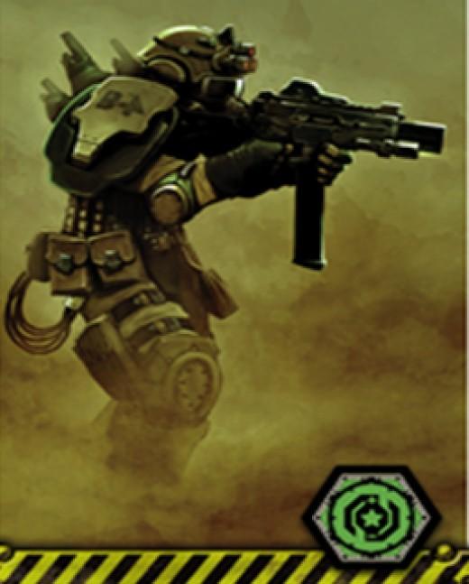 """The Outpost """"Commando"""""""