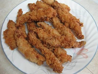 These chicken strips are quick and easy to make and enjoy.