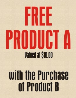 Give Away Free Products to Increase Sales & Profits