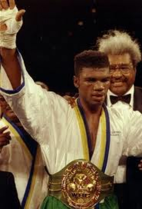 """Julian Jackson had power in both fists and was known as """"The Hawk"""". He is a former jr. Middleweight and middleweight champion."""