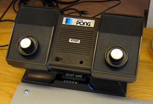 1976 Atari Super Pong