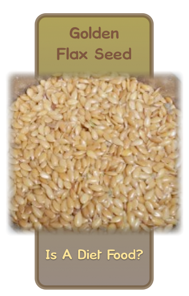 Get a head start on your diet plan by incorporating fresh ground flax seed into your daily food intake.