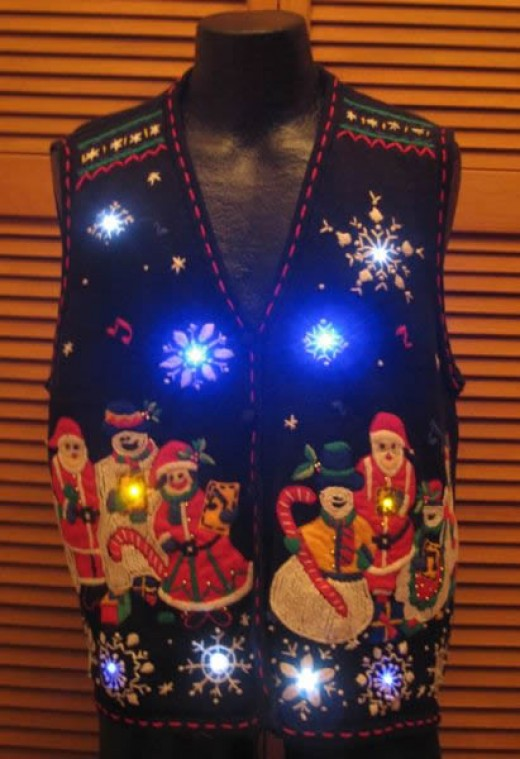 christmas sweaters light up your holidays hubpages - Lighted Christmas Sweaters