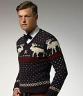 Men are not immune to the lure of the Chrismas sweater