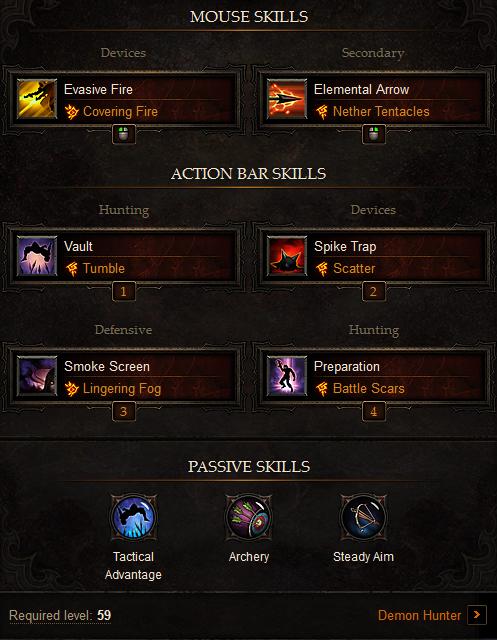 Solo Demon Hunter Build