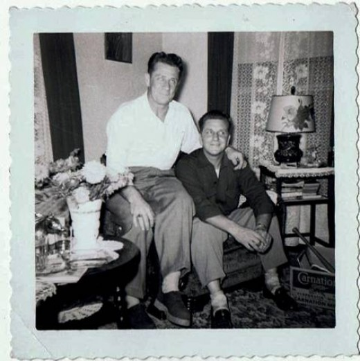 Dad and Uncle Les
