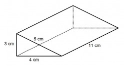 How to Work Out the Surface Area of a Triangular Prism (Right Angled and Isosceles)