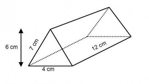 how to work out the surface area of a triangular prism right angled and isosceles. Black Bedroom Furniture Sets. Home Design Ideas