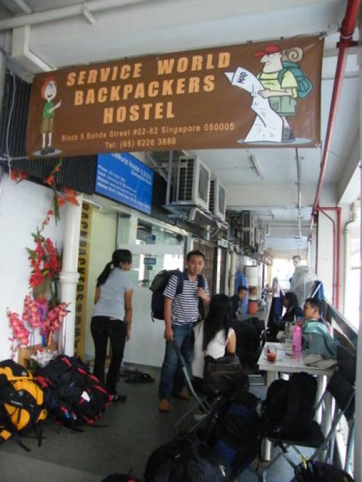 Backpacker hostel in Chinatown