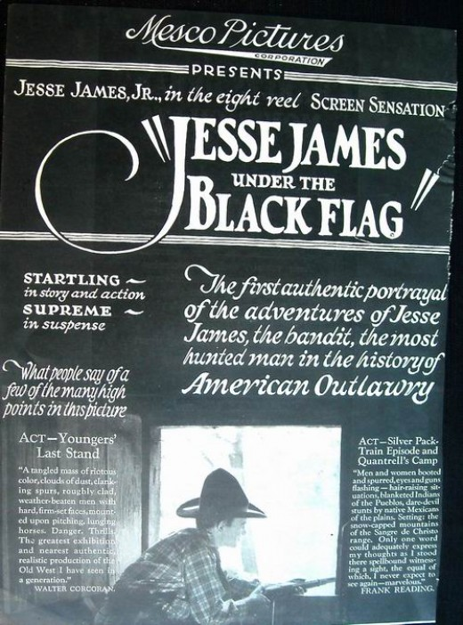 Jesse James Under the Black Flag (1921)