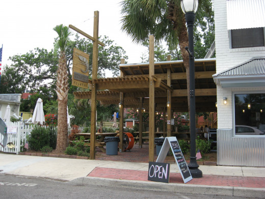 Timoti's in downtown Fernandina Beach