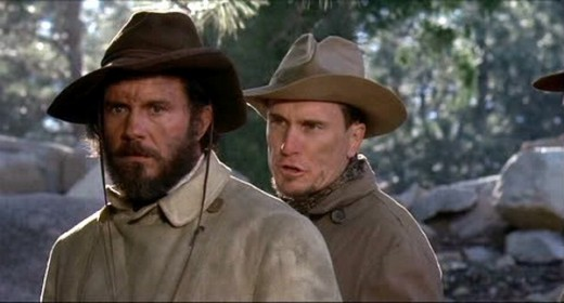 Cliff Robertson and Robert Duvall in The Great Northfield Minnesota Raid (1972)