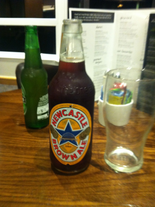 Newcastle Brown Ale - world famous everywhere!!