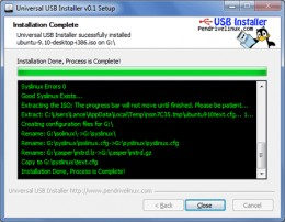 how to create auefi bootable linux mint usb drive