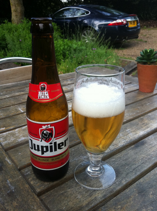 Jupiler - from Belgium...in Kent