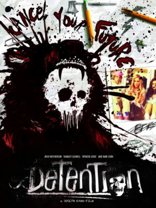 The incredibly awesome poster for Detention