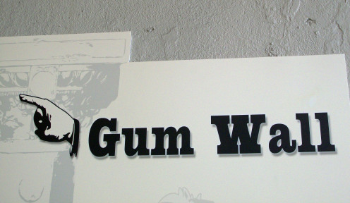 Gum Wall Sign