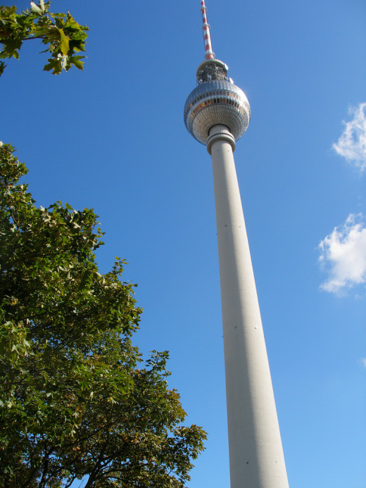 The TV Tower over Berlin