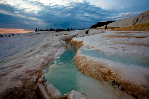 The Pamukkale Thermal Pools