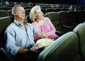 Not just teen's enjoy a walk-in theater, but some middle-aged people enjoy the thrill of watching a movie in a walk-in theater.